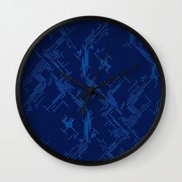 Microscheme Wall Clock
