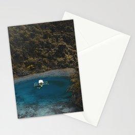 Tropical Lagoon Coron Palawan Philippines  Stationery Cards