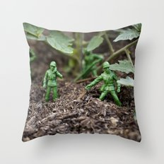 Army Dudes Throw Pillow