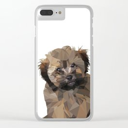 Cocoa, the puppy Clear iPhone Case