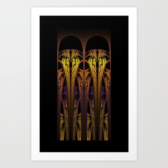 Goth.Cathedral Art Print