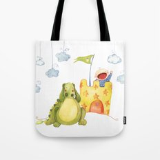 Baby castle Tote Bag