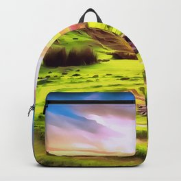 Fairy Glen - Isle of Skye (Painting) Backpack