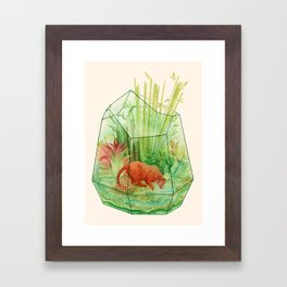 Tigerrarium Framed Art Print