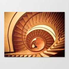 A Cornucopia of Stairs Canvas Print