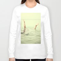 submarine Long Sleeve T-shirts featuring submarine 2 by Gordon Chalmers