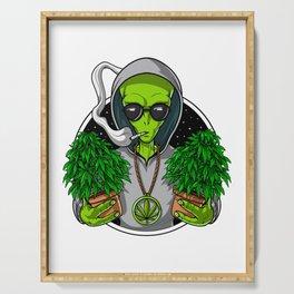 Alien Weed Grower Serving Tray