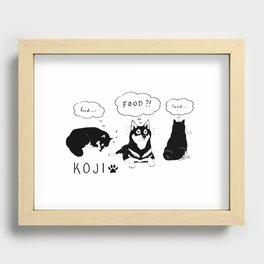 Koji Recessed Framed Print
