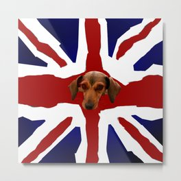 The Smooth Side of being British Metal Print