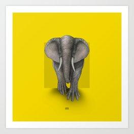 Elephand Art Print