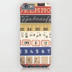 Washi Tape (Alphabet) iPhone 6s Slim Case