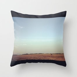 Headed to Infinity Throw Pillow