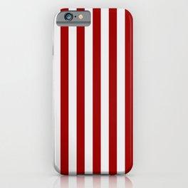 Indiana University IU Stripes iPhone Case