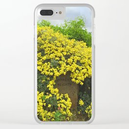 Sorrento Heights (Floral) Clear iPhone Case