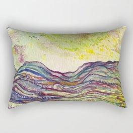 Mar de Ensueños Rectangular Pillow
