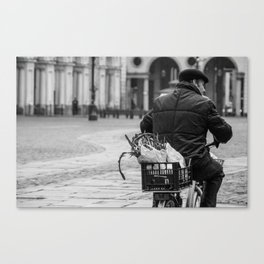 Rainy morning in Turin Canvas Print