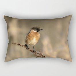 Stonechat Rectangular Pillow
