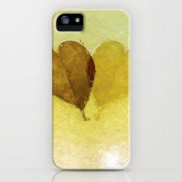 Echoing Love iPhone Case