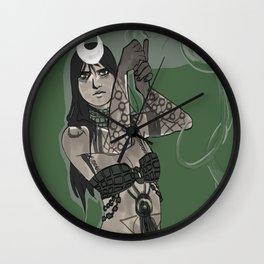 Dirty magic Wall Clock