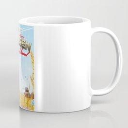 Hessen Deutschland Reiseplakat Postcard Coffee Mug