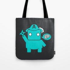 Ninja Pirate Robot Zombie Tote Bag