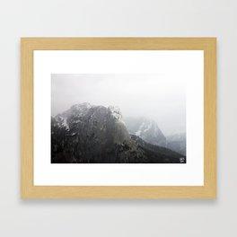 Ausseer Berge II Framed Art Print