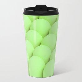 Green tubes Travel Mug