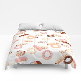 Donuts Galore Comforters
