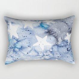 Starry Moon Rectangular Pillow