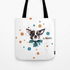 Chic Chihuahua dog Tote Bag