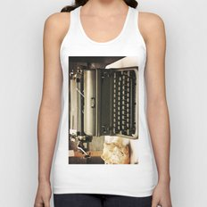 You never write... Unisex Tank Top