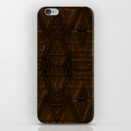 Coppery African Pyramid iPhone Skin