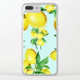 lemon 2 Clear iPhone Case