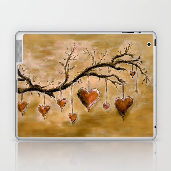 Der Liebesbaum (in Acryl) Laptop & iPad Skin