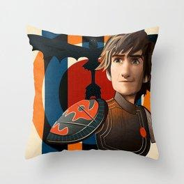 Train a Dragon Throw Pillow