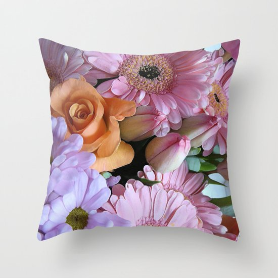 A Pink Mind is a Joy Forever! Throw Pillow