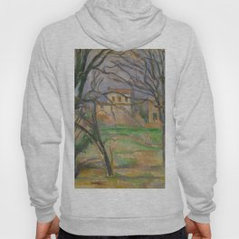 Paul Cézanne - Arbres et maisons au lieu dit La Durane (Trees and Houses) Hoody