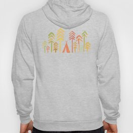 Tepee in the forest Hoody