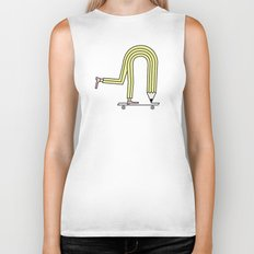 Pencil Pusher Biker Tank
