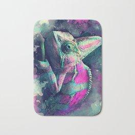 chameleon #chameleon #animals Bath Mat