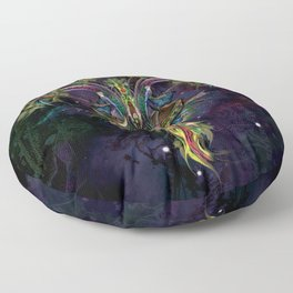 Space Goat Goa - Capricorn Floor Pillow