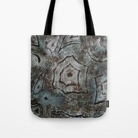 malachite Tote Bags featuring Malachite by RubenBer