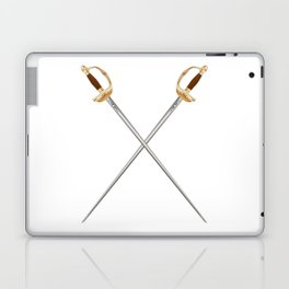Crossed Infantry Swords Laptop & iPad Skin