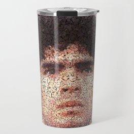 Homage to Maradona  Travel Mug
