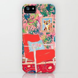 Red Chair iPhone Case