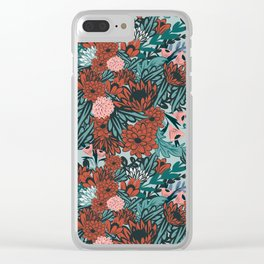 Spanish Dancer Clear iPhone Case