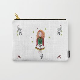 Irish Dancing Girl Carry-All Pouch