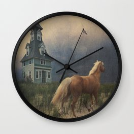Across the sands Wall Clock