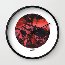 Lotto Colours Wall Clock