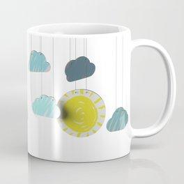 Sunny Day 3D Paper Craft Coffee Mug